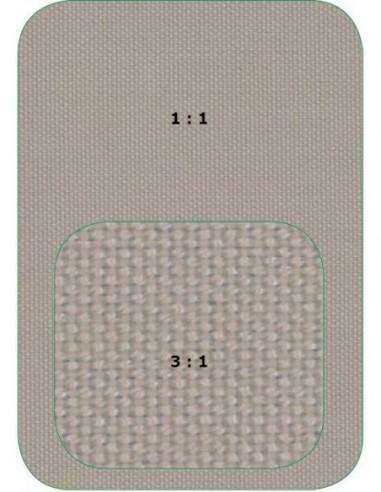 Toile polyester LIPARI écrue, 260...